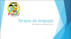 Cómo dar una terapia de lenguaje 1