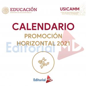 calendario promoción horizontal 2021