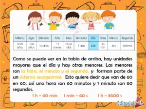 las unidades de medida para niños
