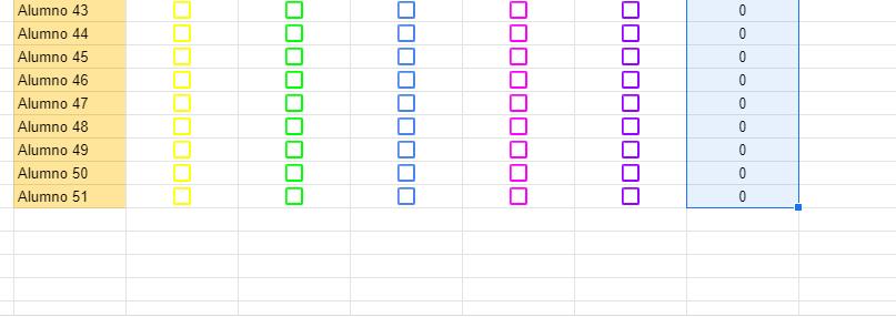 totales de calificaciones de alumnos en google drive