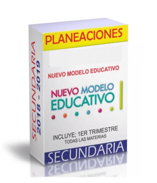 Planeaciones Geografia 1 Secundaria (Nuevo Modelo Educativo) 1er. Trimestre