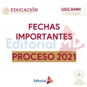 Fechas Importantes Para La Promoción Horizontal 2021