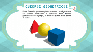 la definicion de los cuerpos geométricos