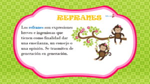 definicion de los refranes