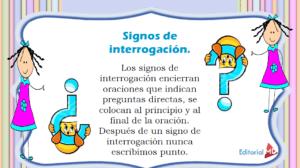 Signo de interrogación definición