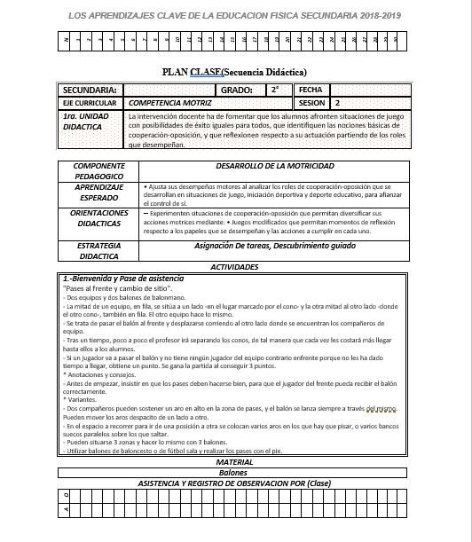 Planeacion Anual Educación Física 2 Secundaria01