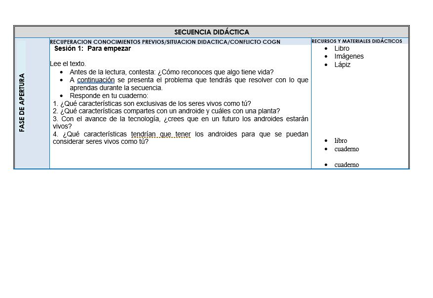 Planeaciones de Ciencias Telesecundaria (Plan 2011) 01