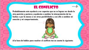 Actividades para superar el conflicto