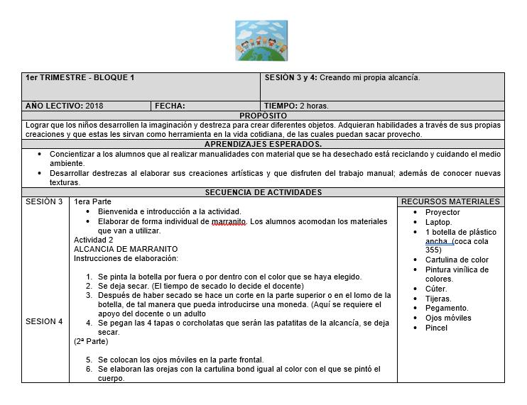 Planeación Primaria Club Manualidades Con Material Reciclado 02