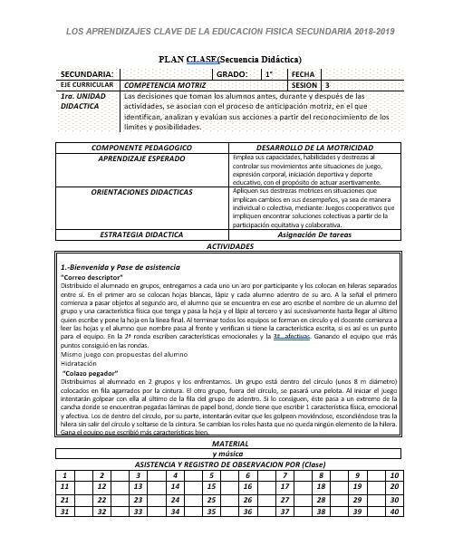 Planeacion Anual Educación Física 1 Secundaria02