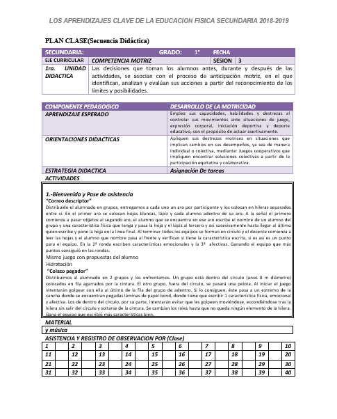 Educación Física Primero De Secundaria (3 Trimestres) Todo El Ciclo Escolar02