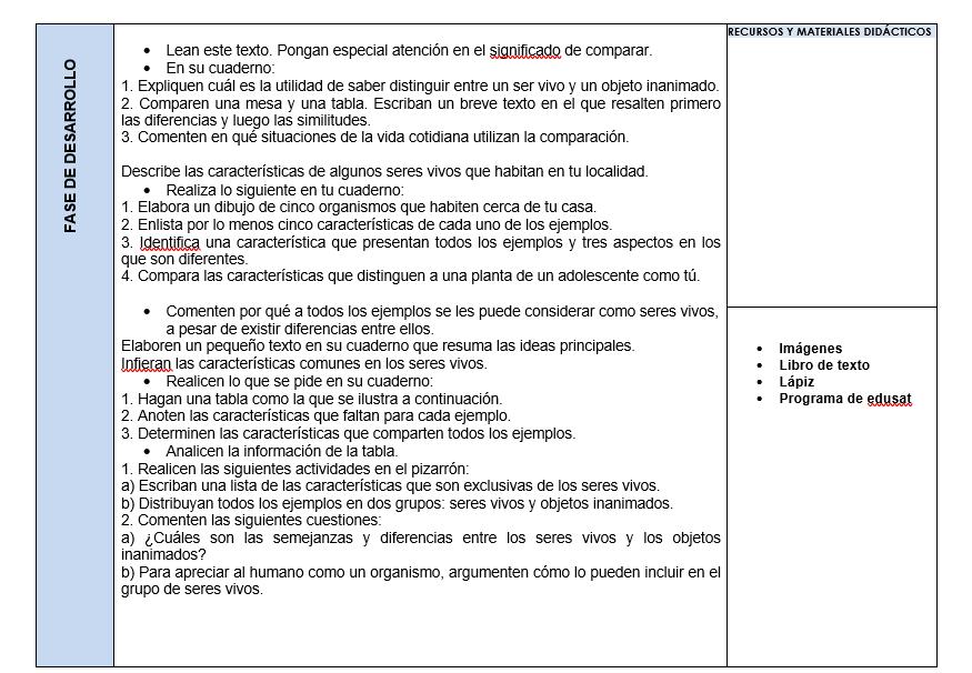 Planeaciones de Ciencias Telesecundaria (Plan 2011) 02