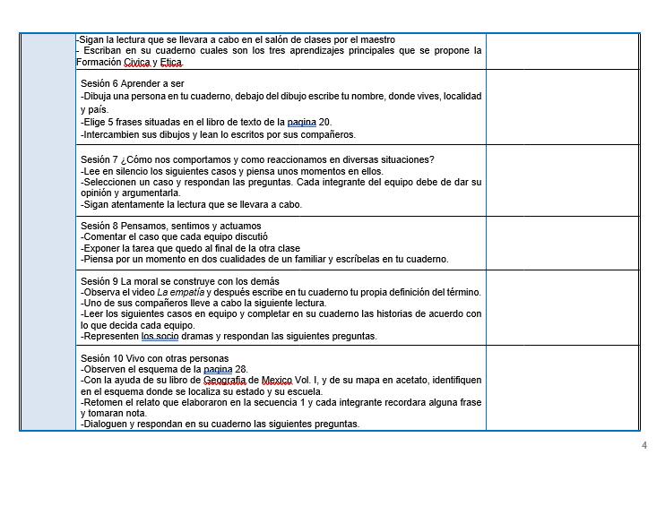 FCyE / Planeaciones de formacion civica y etica telesecundaria 02