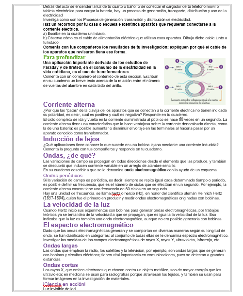 Planeación-Actividades Ciencias Física Secundaria trimestre 01