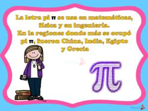 El valor de Pi y su descripción