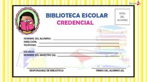credenciales para la biblioteca