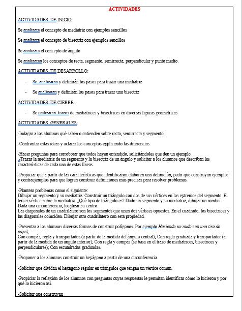 Planeaciones Telesecundaria Primer Grado (Matematicas 01)