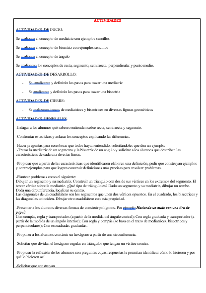 Planeaciones Primer Grado Telesecundaria Segundo Trimestre (Matemáticas 01)