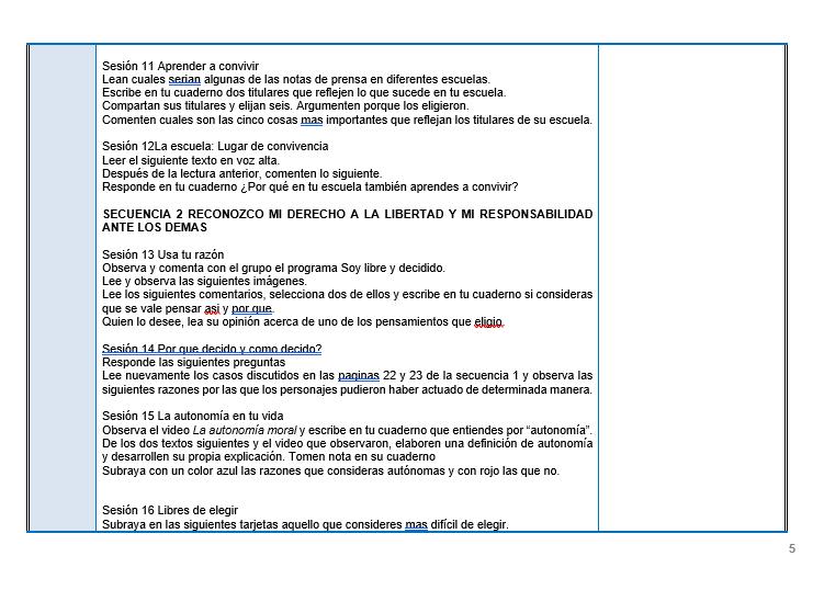 FCyE / Planeaciones de formacion civica y etica telesecundaria 03