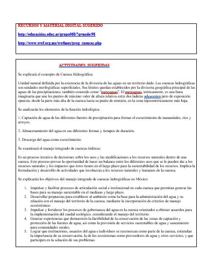 Planeaciones Primer Grado Telesecundaria Segundo Trimestre (M