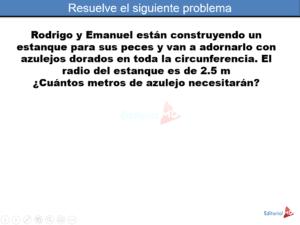 Resuelve el siguiente problema Pi