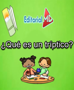 ¿que es un tríptico? para niños