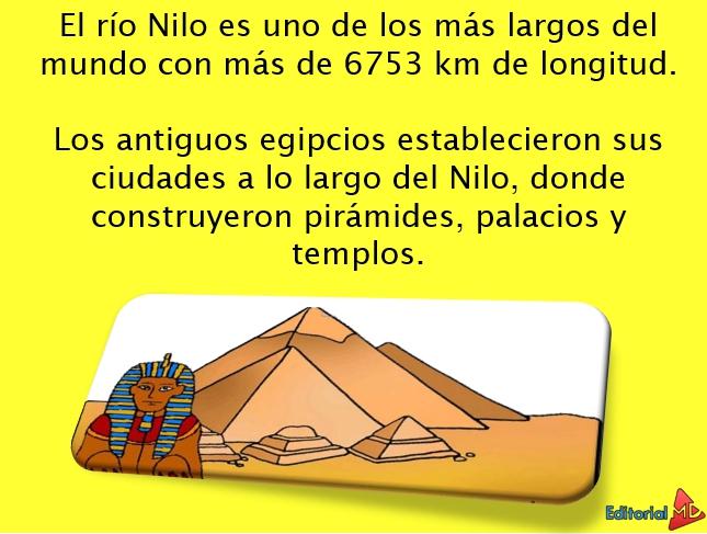 Ejemplo del rió nilo