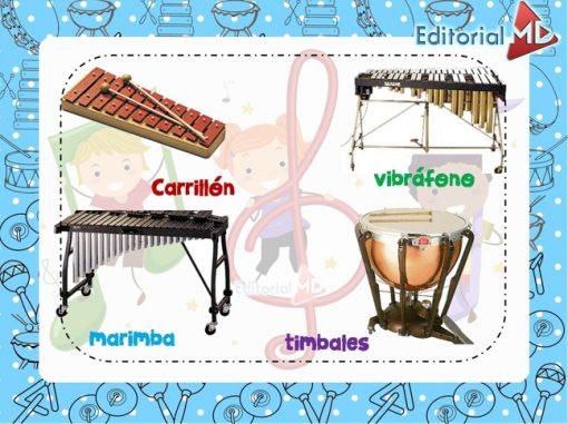 Ejemplo de instrumentos