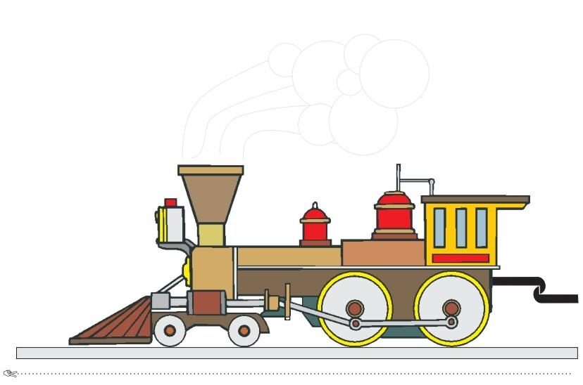 Tren con números