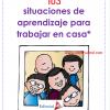 103 situaciones de aprendizaje para trabajar en casa