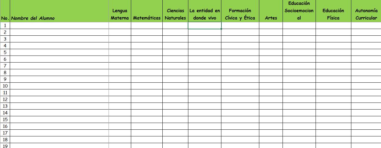 Ejemplo Evaluación