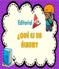 ¿Qué es un álbum? para niños