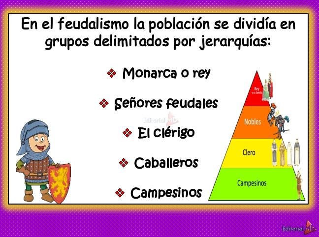 ejemplos feudalismo