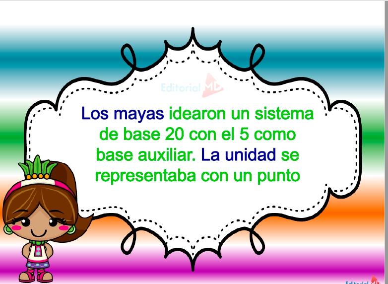 sistema base de los mayas