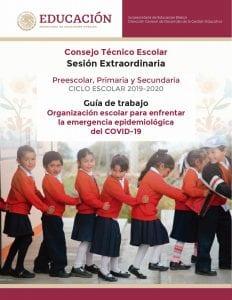 Guías Oficiales SEP Sesión Extraordinaria CTE (COVID-19)