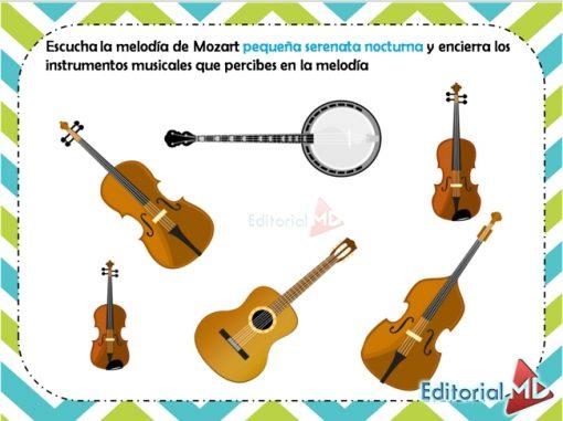 Actividades de la música