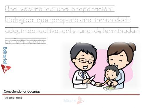 Actividades sobre las vacunas