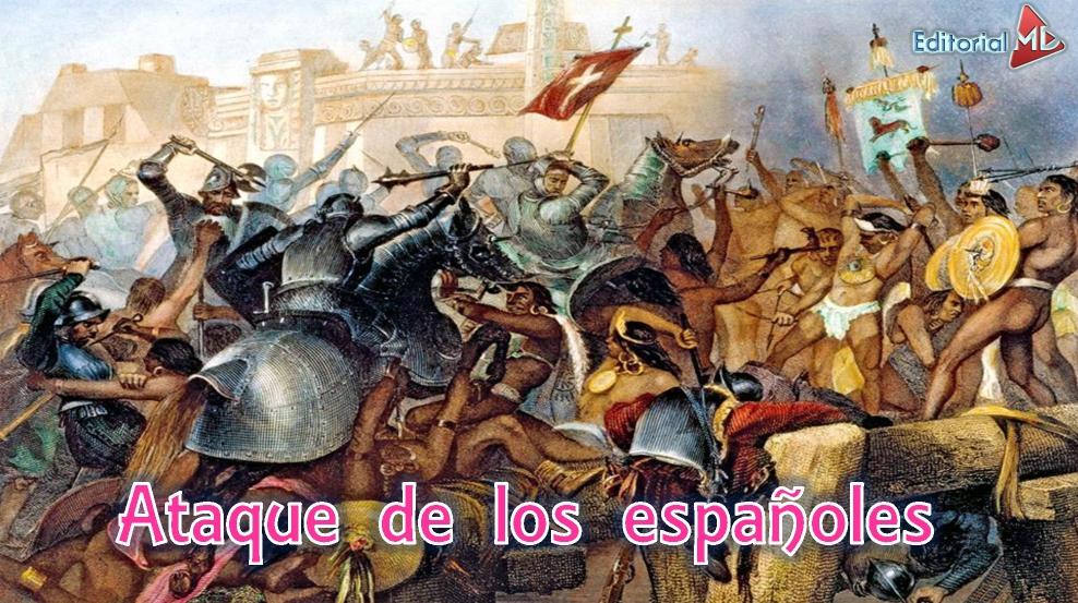 La conquista de México para niños