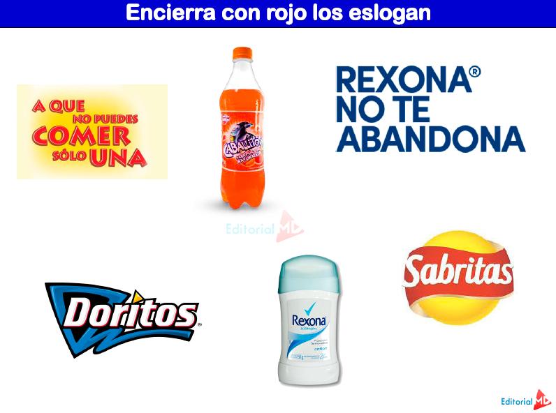 actividades anuncios publicitarios el eslogan