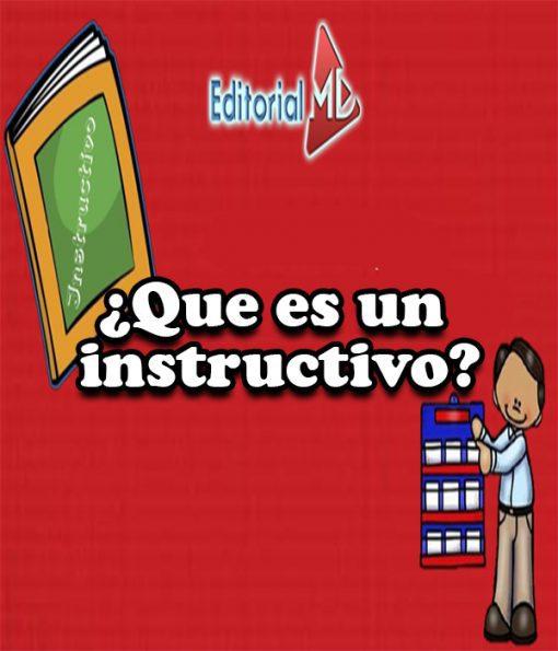 ¿Que es un instructivo?