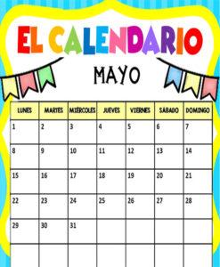 Características del calendario