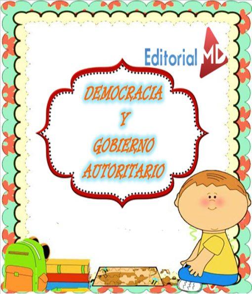 Democracia y gobierno autoritario para niños