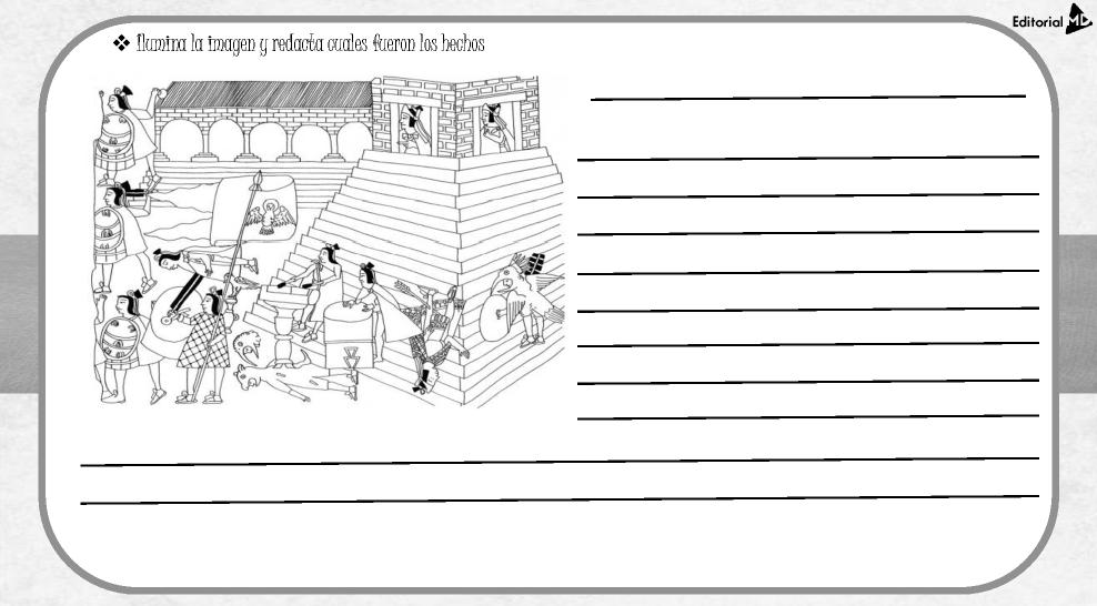 actividades de México - tenochtitlan