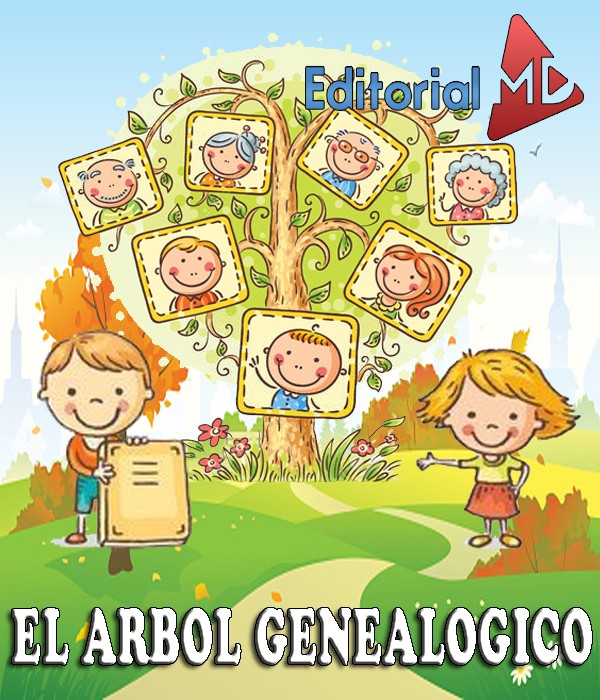 Arbol genealogico para ni os material para imprimir for Concepto de la familia para ninos