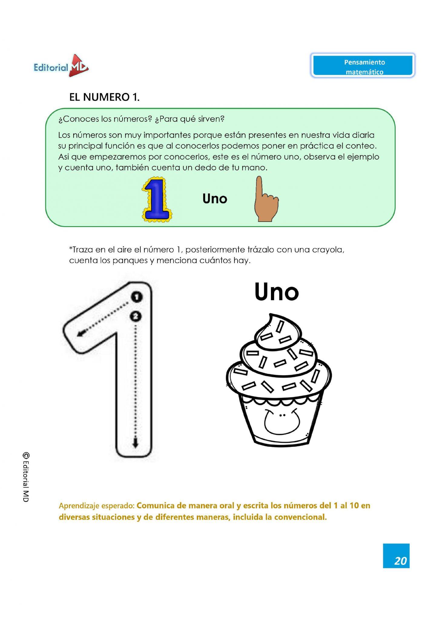 Actividades Pensamiento Matemático 01
