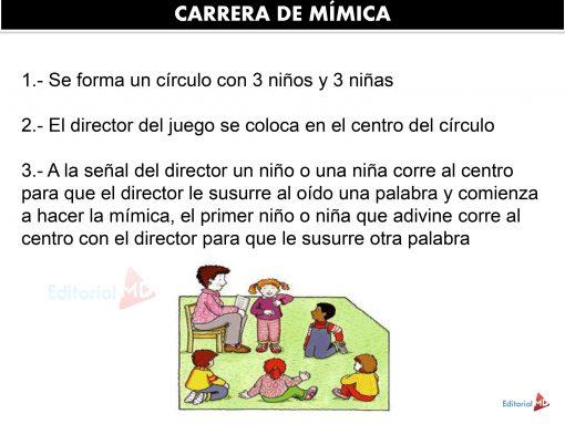 Actividades de la mimica