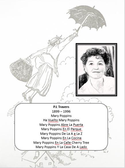 Agenda Escolar y o Personal Mary Poppins 01