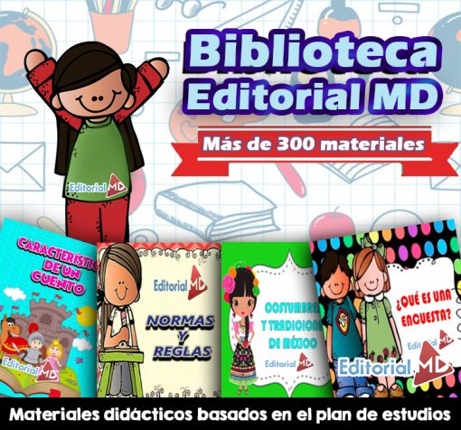 biblioteca editorial md