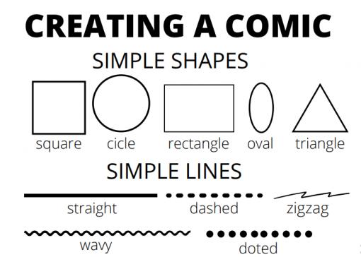 CREATING A COMIC 01