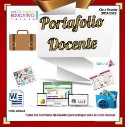 Portafolio de Evidencias Docentes 2021-2022